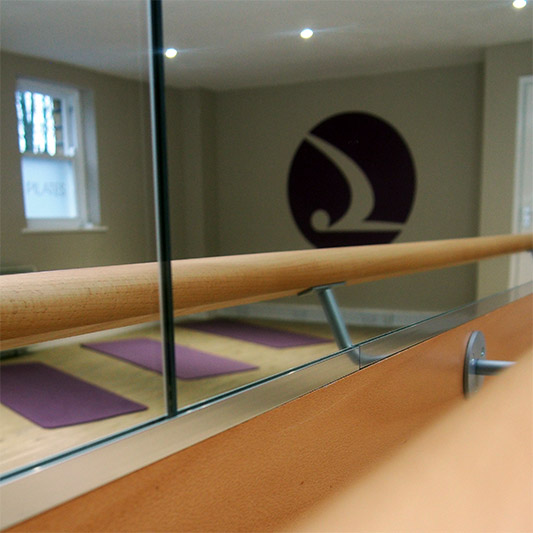 Barre Pilates photograph
