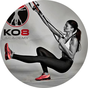 KO-8 logo and photograph